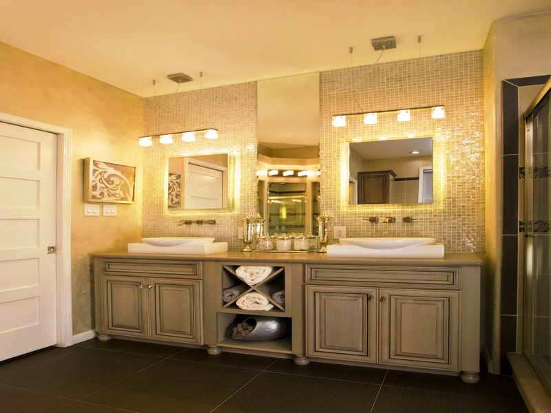 Bathroom lighting pictures gallery qnud - Images of bathroom vanity lighting ...