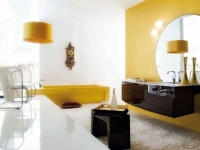 yellow-contemporary-bathroom-light-fixtures