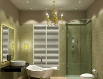 bathroom-chandelier