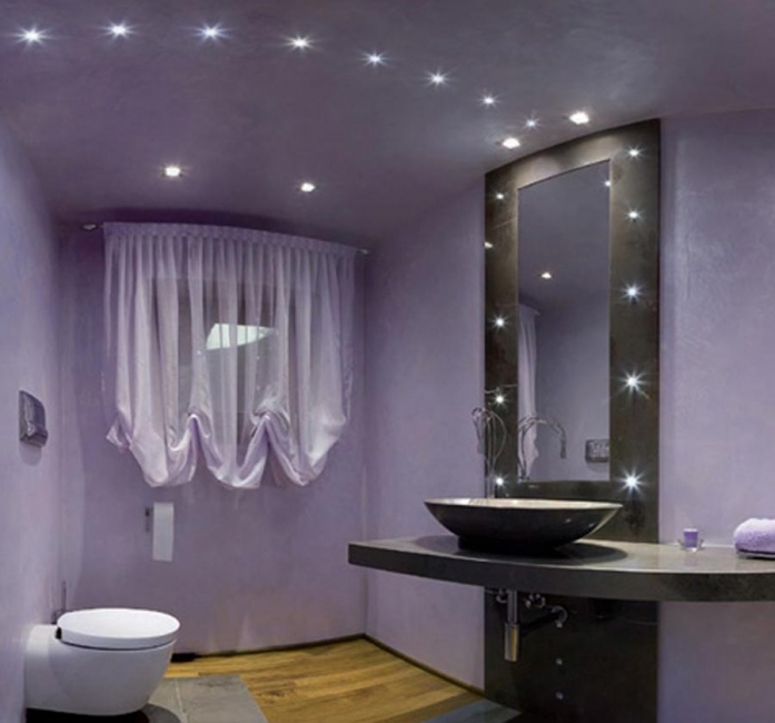 Bathroom lighting pictures gallery qnud Cool bathroom lighting ideas