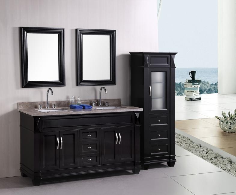 cheap black bathroom vanity. Black Bathroom Vanity With Cabinets Bathroom Vanity Pictures Gallery  QNUD