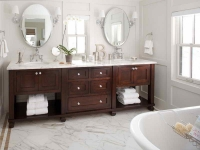 traditional-double-sink-vanity-for-a-contemporary-bathroom