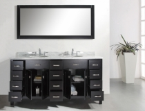 contemporary-double-sink-bathroom-vanity-with-cabinets