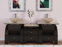 cool-double-sink-bathroom-vanities