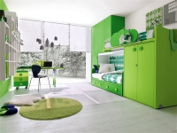 green-kids-bedroom-design-ideas