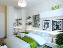modern-bedroom-with-green-accents
