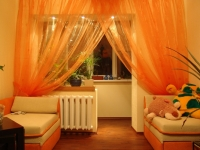orange-contemporary-window-curtains
