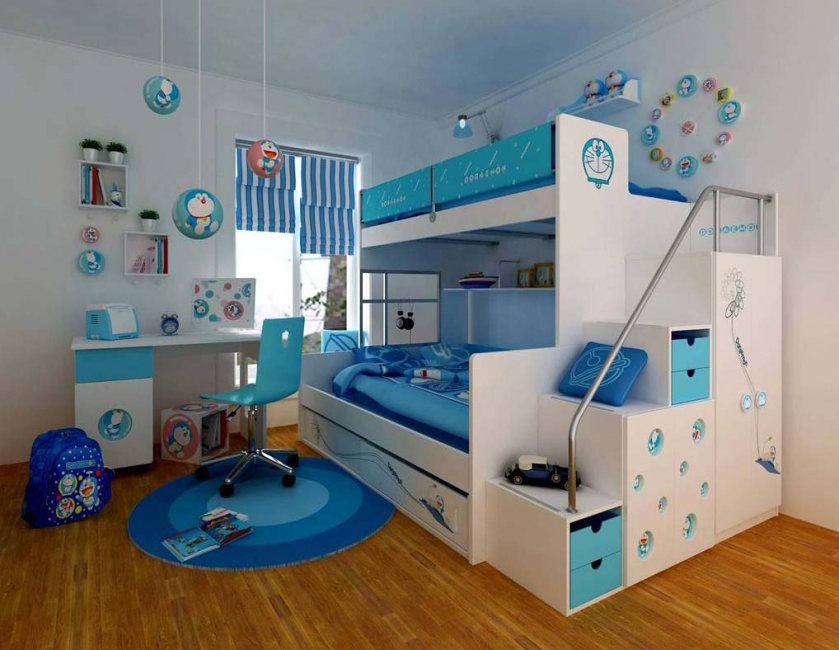 boys-bunk-beds-with-dresser