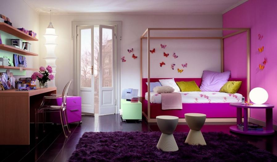 chic-gils-bedroom-design-ideas