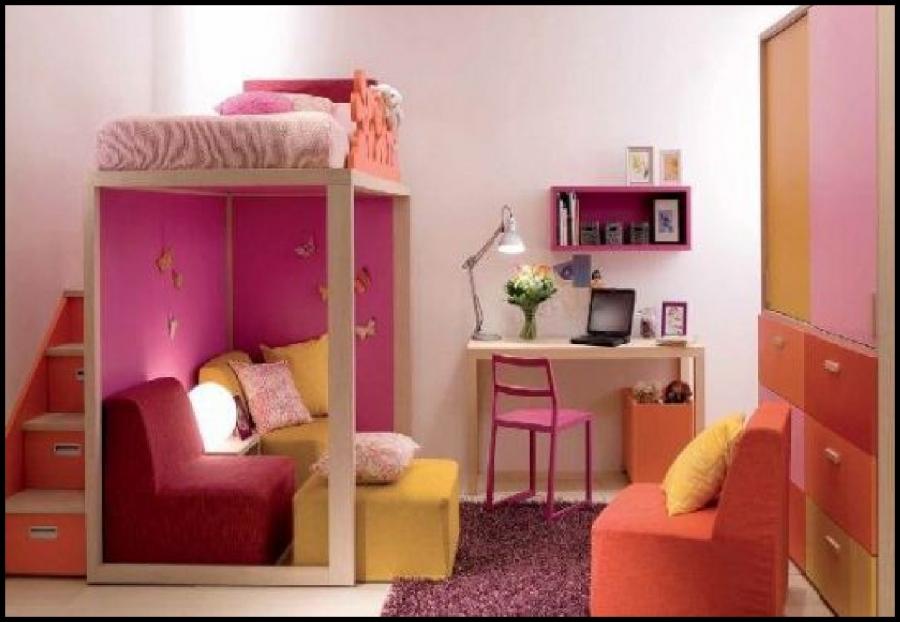 girls-small-bedroom-design-ideas