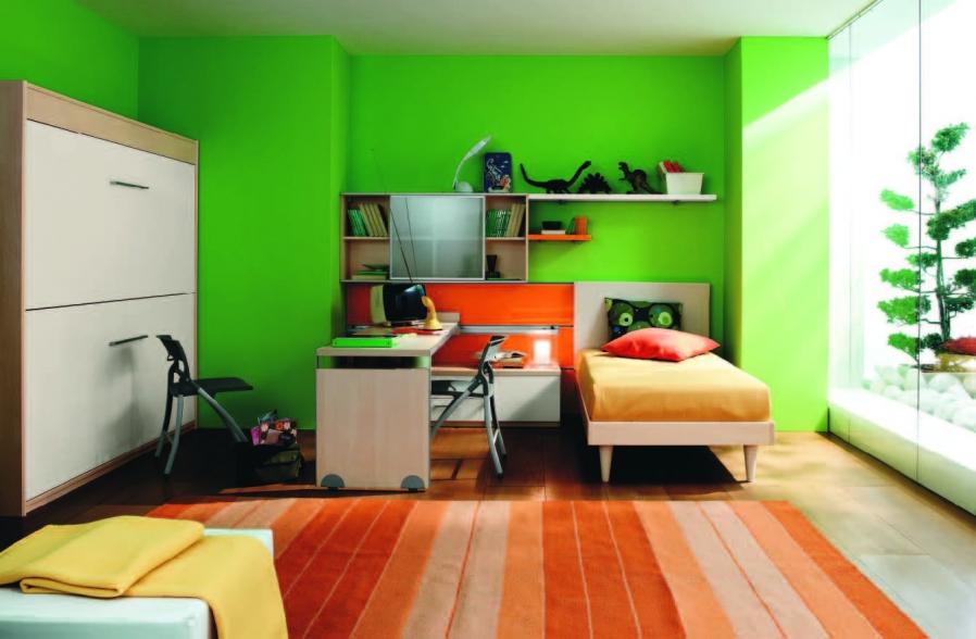 green-kids-bedroom-ideas