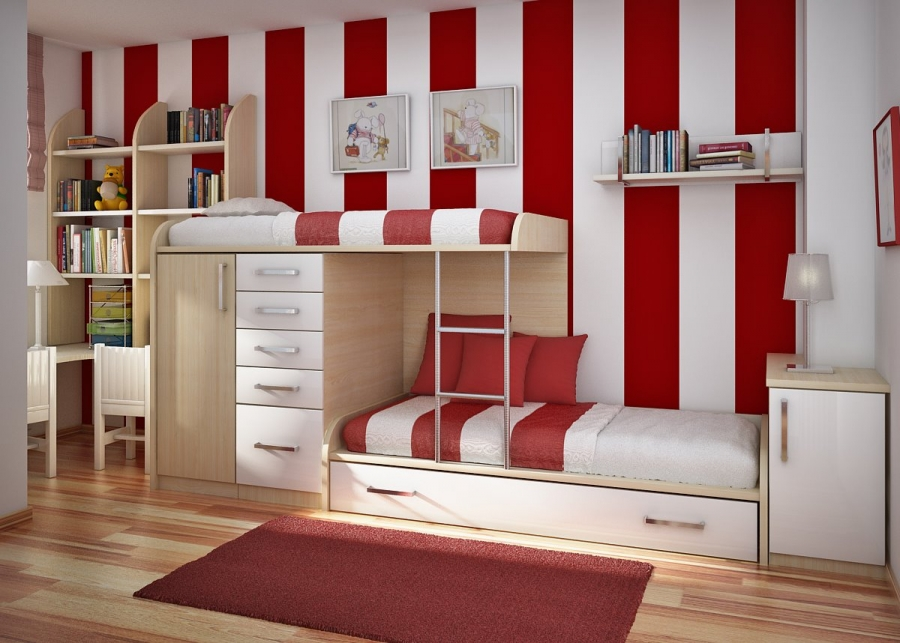 kids-bunk-bed-with-dresser