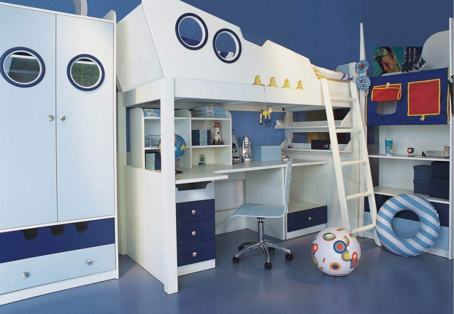 kids-bunk-bed-with-slide