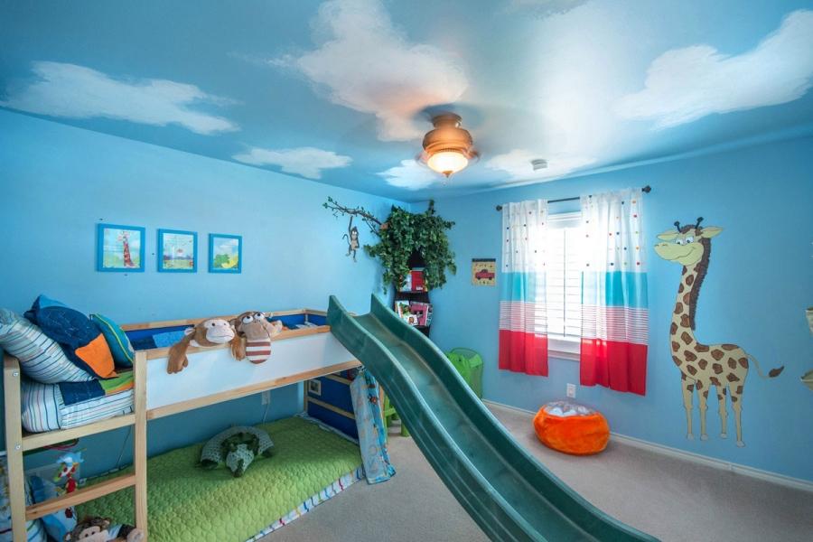 kids-loft-bed-with-slide