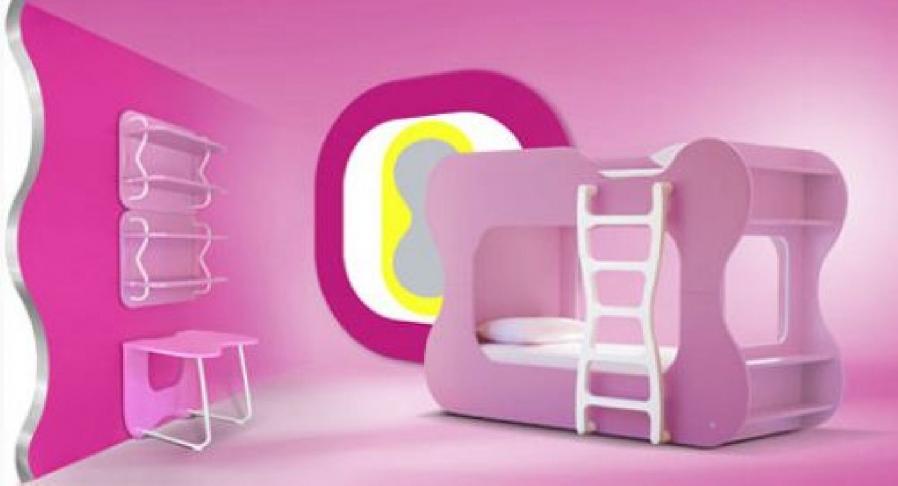 unique-girls-pink-bedroom-design