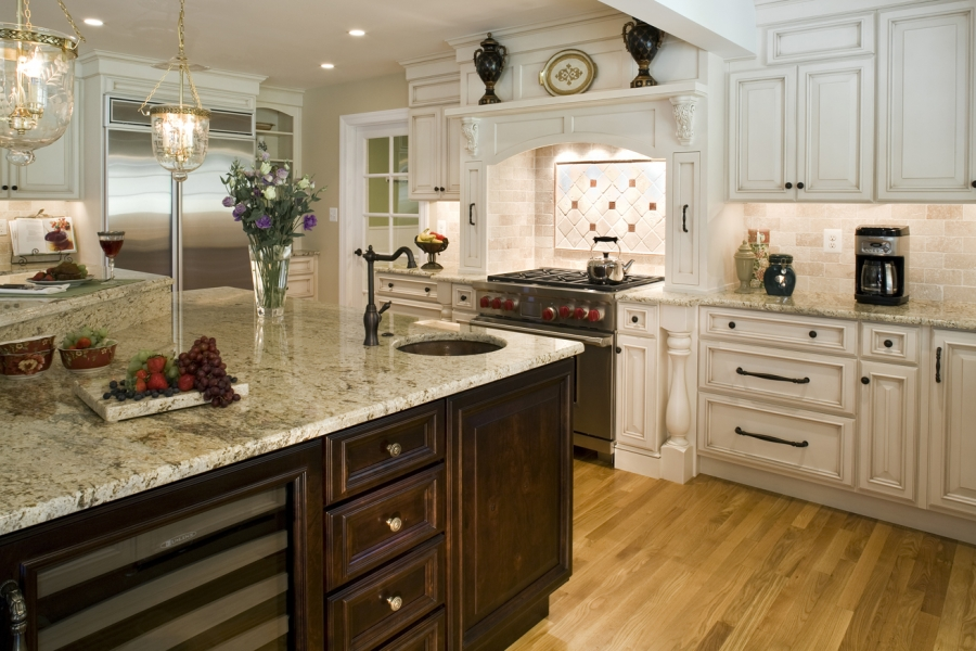 largest and most comprehensive kitchen countertops pictures gallery