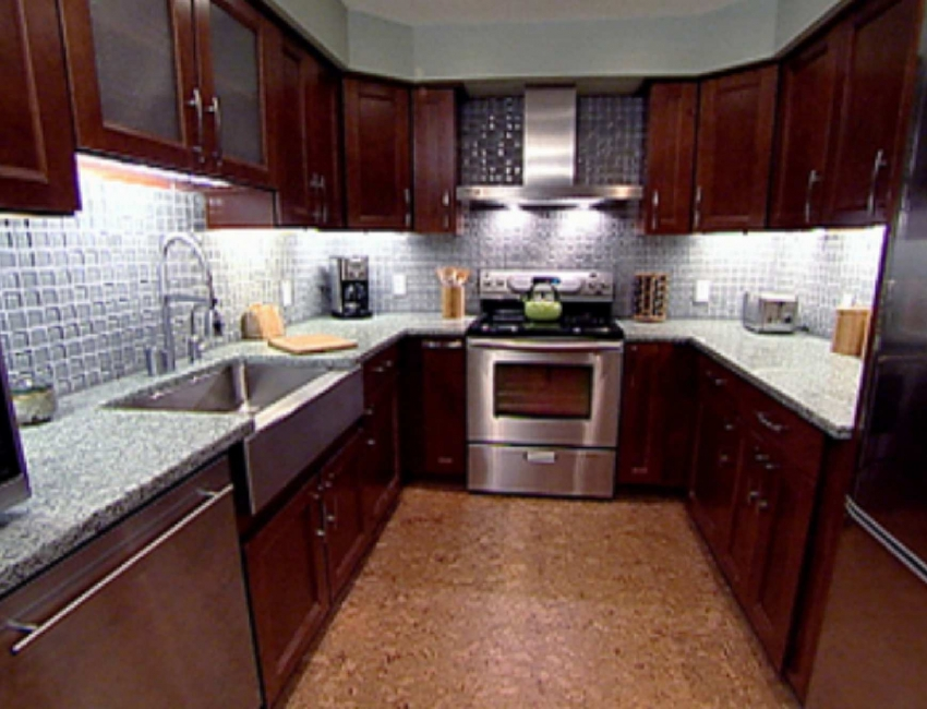Kitchen countertops pictures gallery qnud for Kitchen cabinet options design