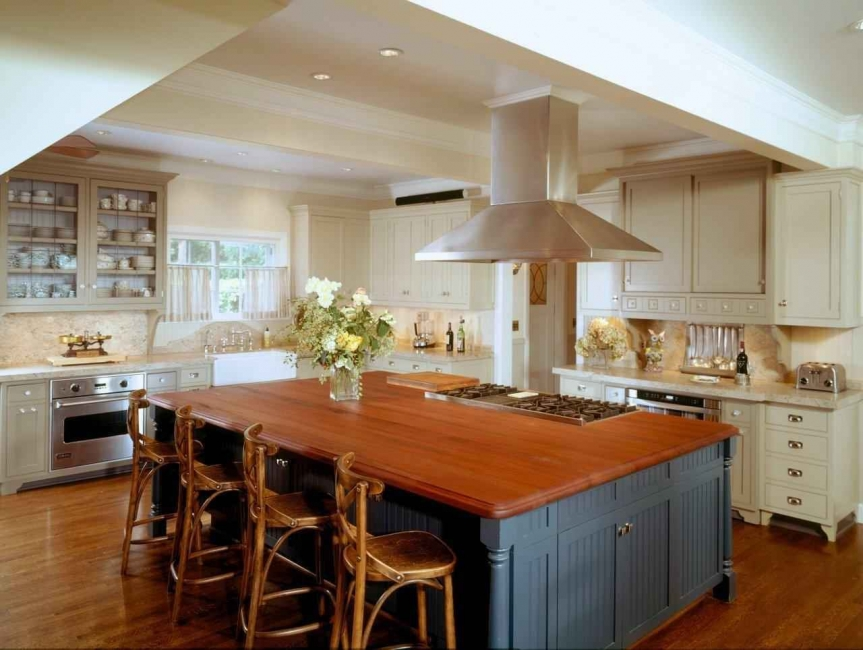 Wood Kitchen Island Countertops