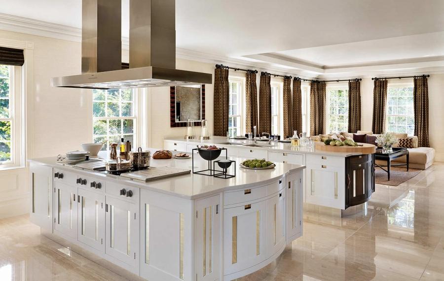 antique-white-kitchen-islands