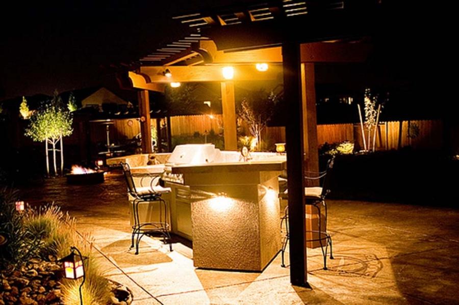 Patio Barbeque Lighting