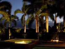 landscape-lighting-near-a-jacuzi