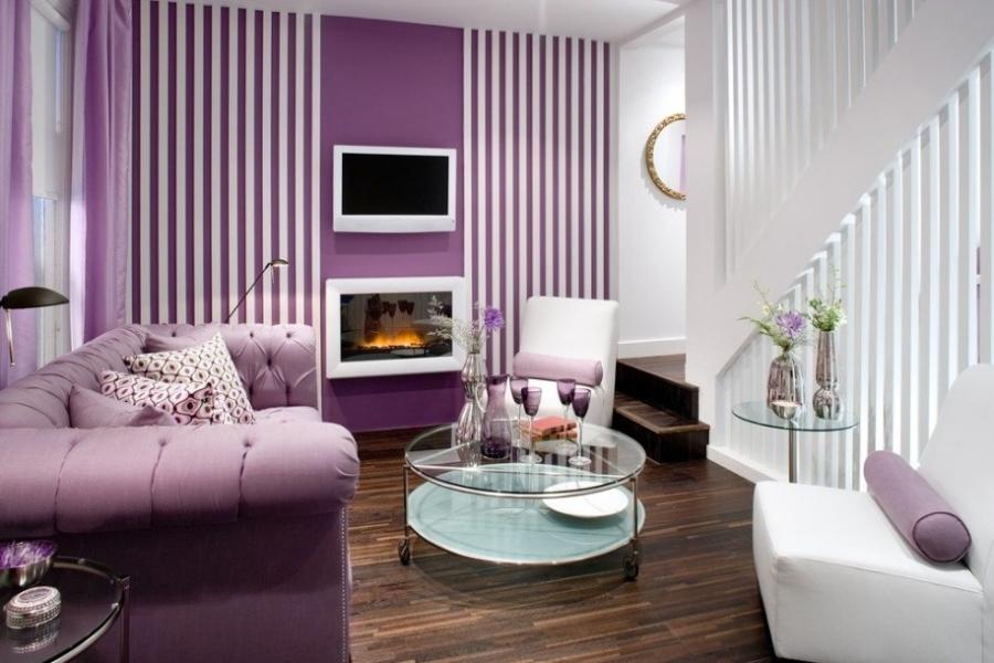 purple-living-room-decor-ideas