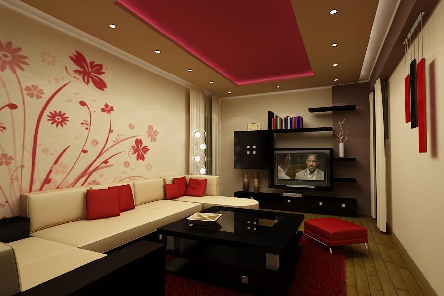 red-living-room-design-ideas