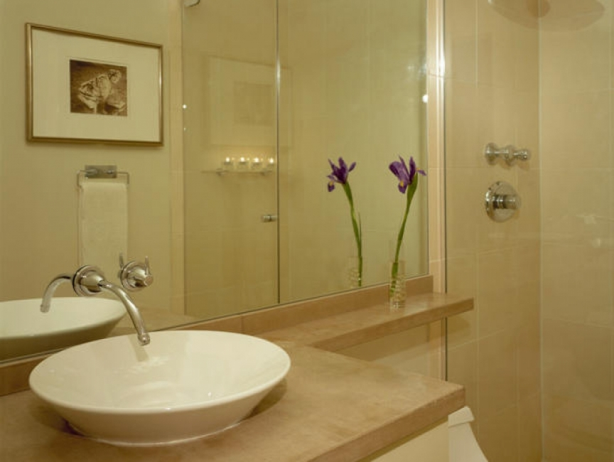 Small bathroom designs picture gallery qnud for Small restroom ideas