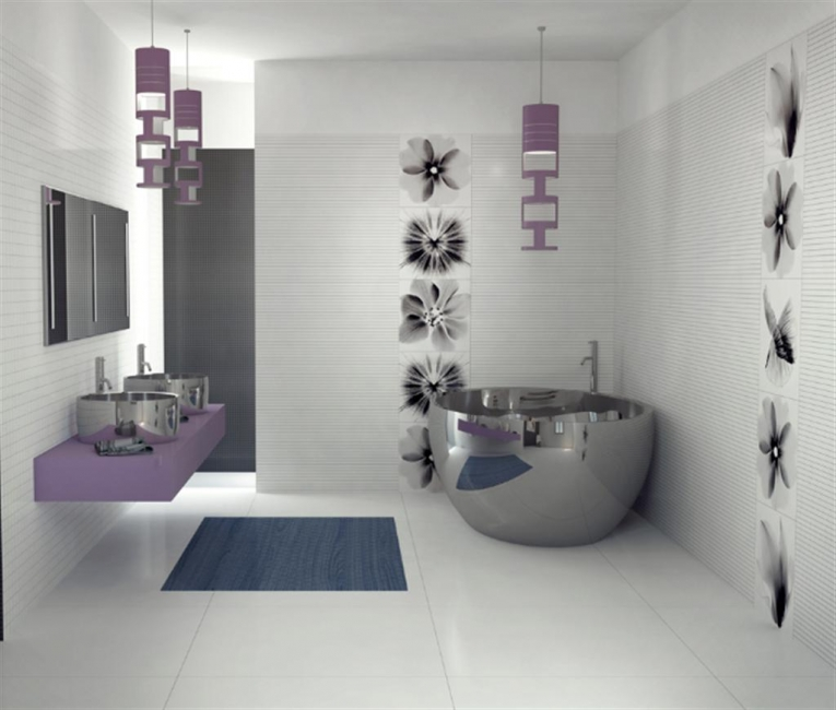 Small bathroom ideas pictures gallery qnud Unique bathroom designs