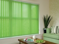 green-vertical-blinds
