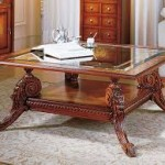 Antique Square Coffee Table