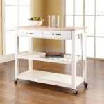 Basic Kitchen Island Cart