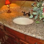 Bathroom Countertops with One