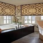 Bathroom Window Treatments Designs