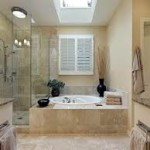 Bathroom Lighting with a Skylight