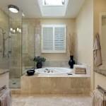 Bathroom Lighting with a Skylight