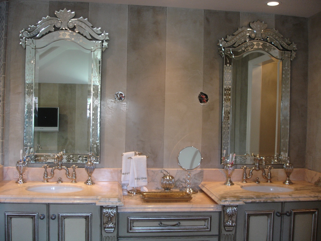 Bathroom vanity mirrors 6603 for Bathroom vanity mirrors