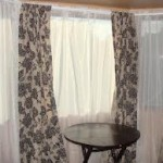 Bay Window Curtain Rod