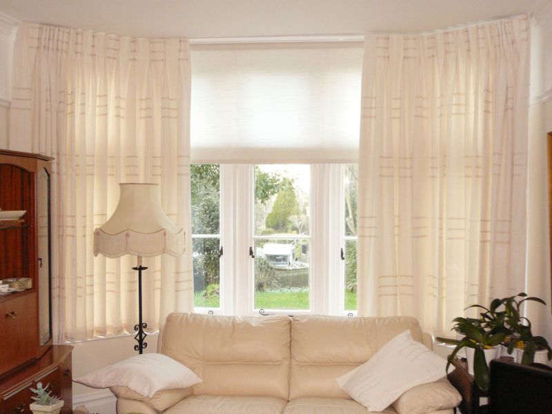 bay window curtains 5891