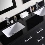 Black Bathroom Vanity Tops
