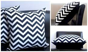 Black Decorative Throw Pillows