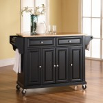 Rolling Kitchen Island Cart