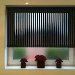 Black Vertical Blinds for Small Window