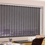 Black Vertical Blinds