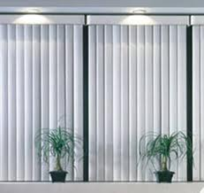 Black & White Vertical Blinds