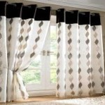 Black & White Window Curtains