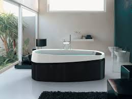 Black and White Bath