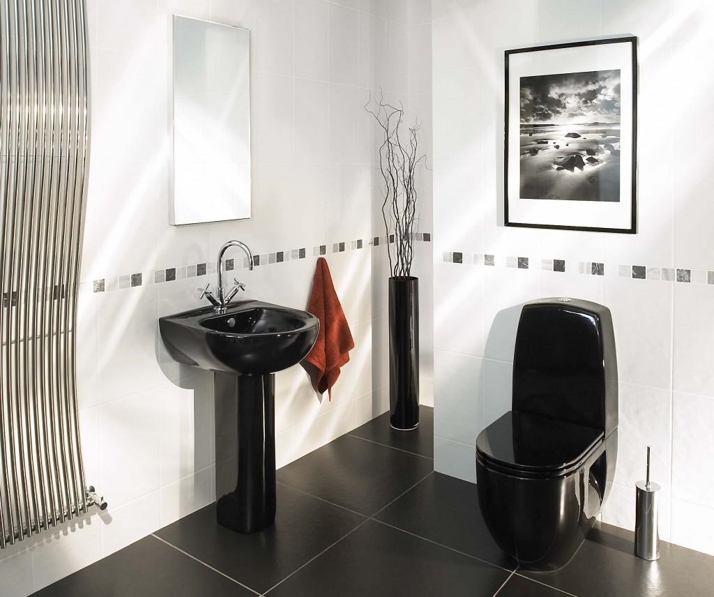 Black and White Bathroom Ideas (6311)