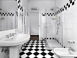 Checkerboard Bathroom Tile