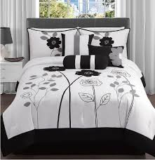 Black and White Bedding for Twin Bed